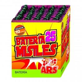 Batería de 25 Misiles