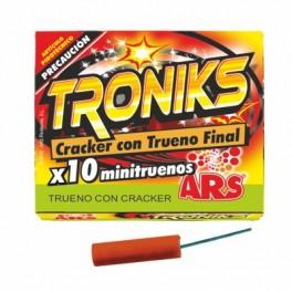 Caja de 10 Petardos Troniks
