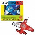 Caja de 3 Aviones voladores