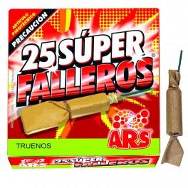 Caja de 25 Petardos Super Falleros